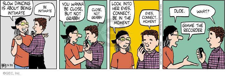Cartoonist Greg Evans  Luann 2013-05-30 moment