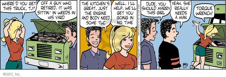 Cartoonist Greg Evans  Luann 2013-06-04 kitchen