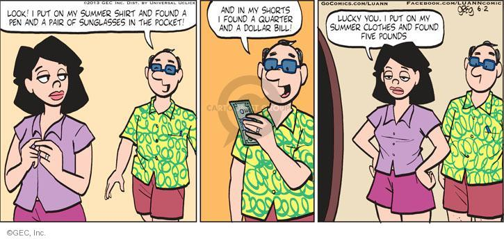 Comic Strip Greg Evans  Luann 2013-06-02 size