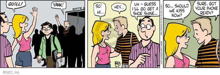 Comic Strip Greg Evans  Luann 2013-06-11 affection