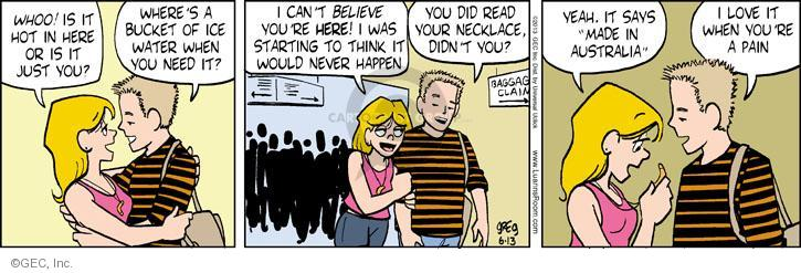 Comic Strip Greg Evans  Luann 2013-06-13 baggage