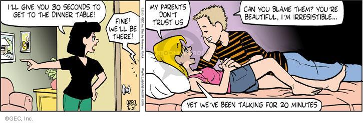 Comic Strip Greg Evans  Luann 2013-06-21 privacy