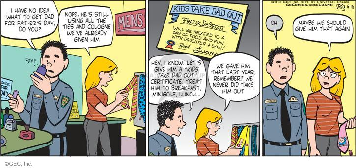 Comic Strip Greg Evans  Luann 2013-06-16 coupon