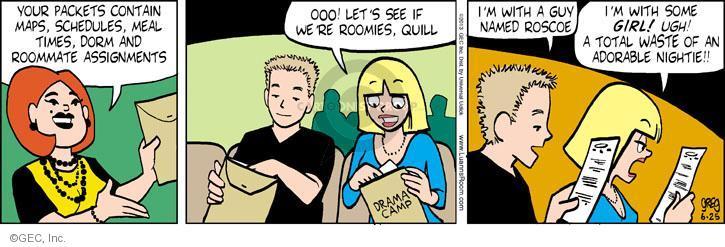 Comic Strip Greg Evans  Luann 2013-06-25 summer camp