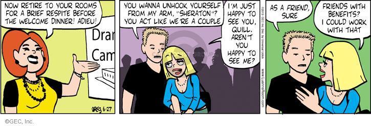 Comic Strip Greg Evans  Luann 2013-06-27 Sheraton