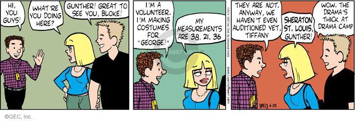 Comic Strip Greg Evans  Luann 2013-06-28 Tiffany