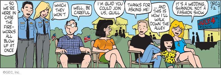 Comic Strip Greg Evans  Luann 2013-07-02 careful