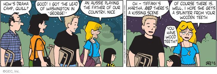 Comic Strip Greg Evans  Luann 2013-07-05 lead