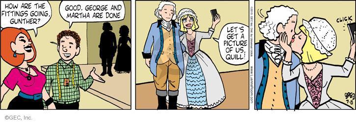 Comic Strip Greg Evans  Luann 2013-07-08 George