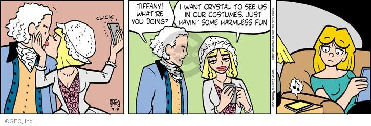 Comic Strip Greg Evans  Luann 2013-07-09 crystal