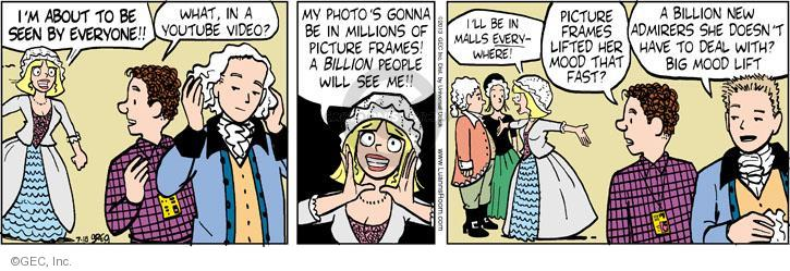 Comic Strip Greg Evans  Luann 2013-07-18 mall