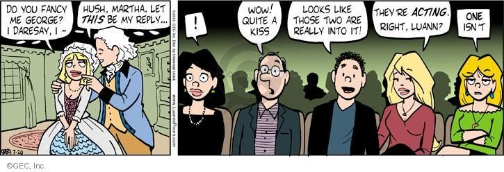 Comic Strip Greg Evans  Luann 2013-07-20 affection