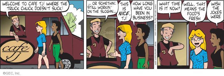 Cartoonist Greg Evans  Luann 2013-07-29 joke