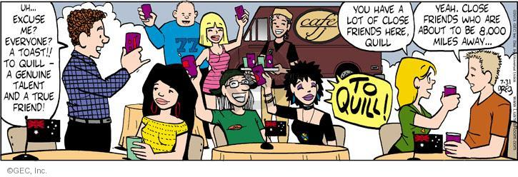 Comic Strip Greg Evans  Luann 2013-07-31 long-distance