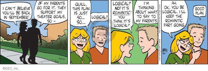Comic Strip Greg Evans  Luann 2013-08-06 reason