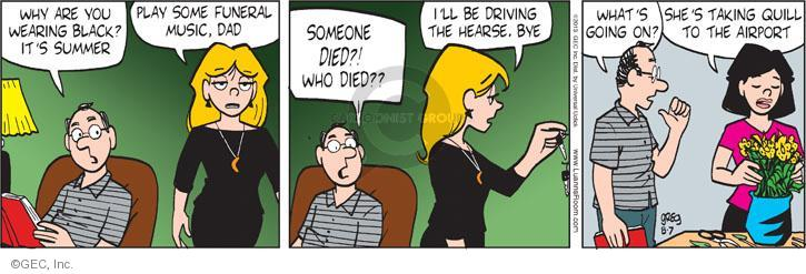 Comic Strip Greg Evans  Luann 2013-08-07 die