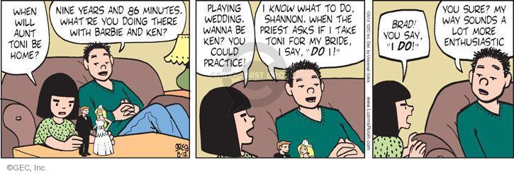 Comic Strip Greg Evans  Luann 2013-08-12 toy