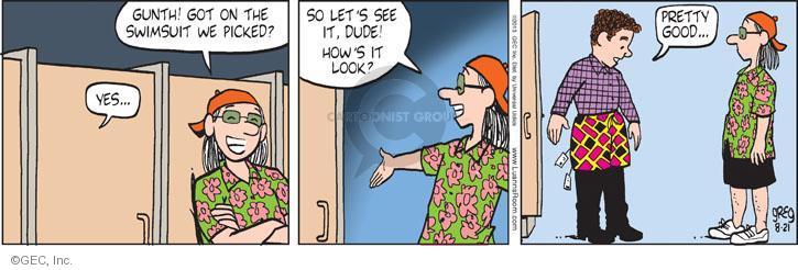 Comic Strip Greg Evans  Luann 2013-08-21 good guy