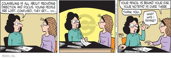 Comic Strip Greg Evans  Luann 2013-09-12 focus