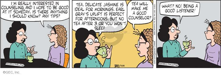 Comic Strip Greg Evans  Luann 2013-09-14 beverage