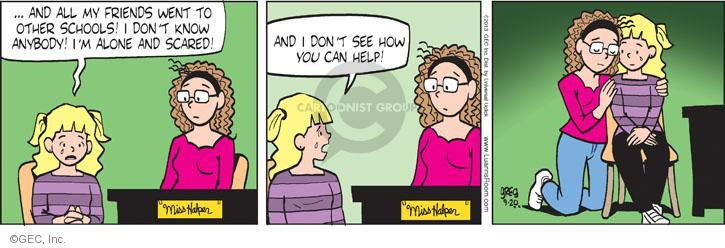 Comic Strip Greg Evans  Luann 2013-09-20 know