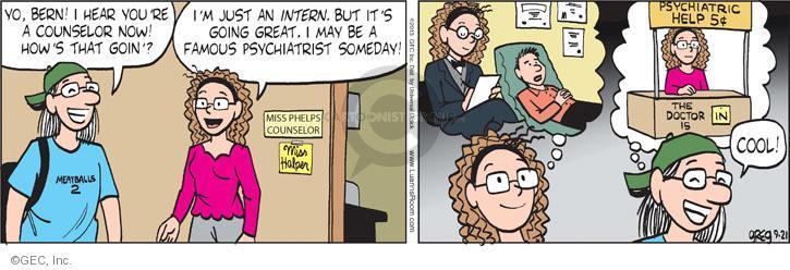 Comic Strip Greg Evans  Luann 2013-09-21 doctor