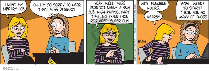 Comic Strip Greg Evans  Luann 2013-09-24 hour