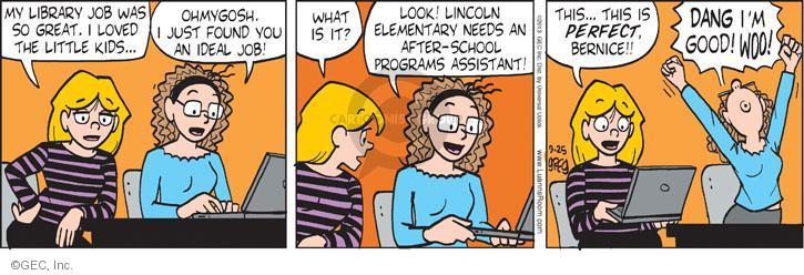 Comic Strip Greg Evans  Luann 2013-09-25 elementary school