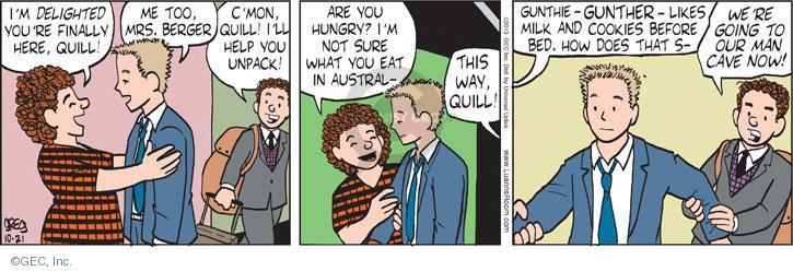 Comic Strip Greg Evans  Luann 2013-10-21 cookie