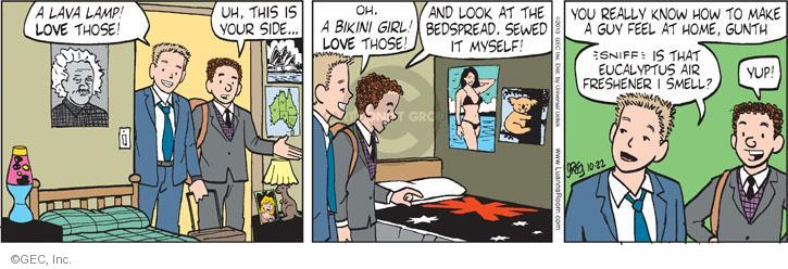Comic Strip Greg Evans  Luann 2013-10-22 sniff