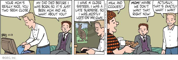Comic Strip Greg Evans  Luann 2013-10-23 cookie