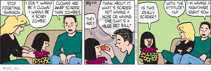 Comic Strip Greg Evans  Luann 2013-10-28 brat