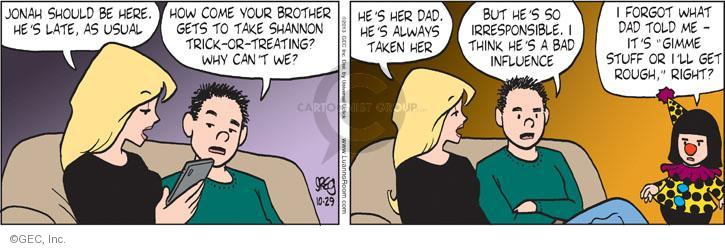 Comic Strip Greg Evans  Luann 2013-10-29 role