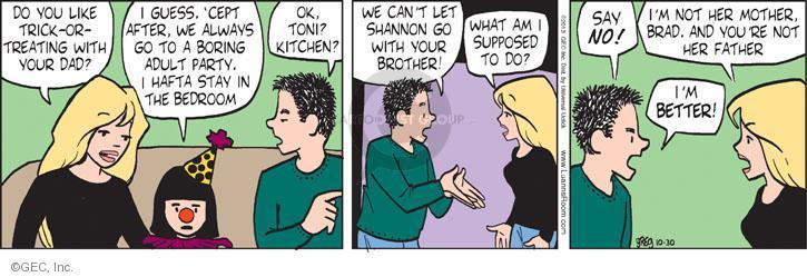 Comic Strip Greg Evans  Luann 2013-10-30 adult