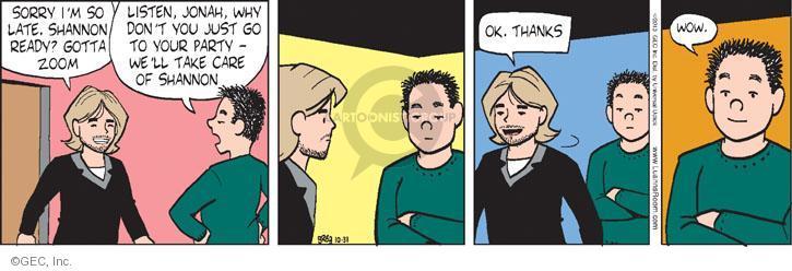 Cartoonist Greg Evans  Luann 2013-10-31 parental
