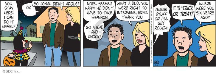 Cartoonist Greg Evans  Luann 2013-11-01 parental