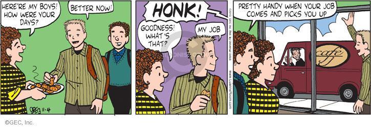 Comic Strip Greg Evans  Luann 2013-11-04 mobile