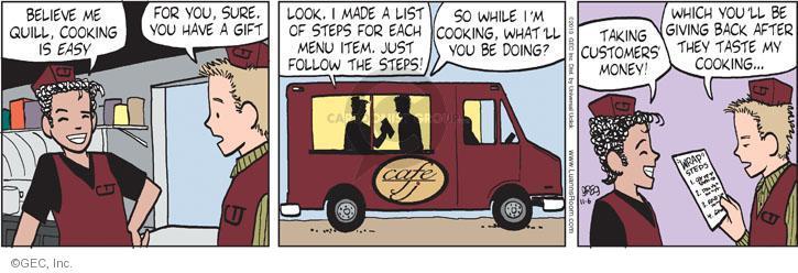 Comic Strip Greg Evans  Luann 2013-11-06 gift giving