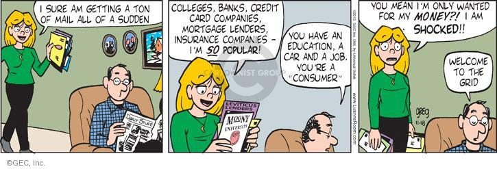 Comic Strip Greg Evans  Luann 2013-11-18 marketing