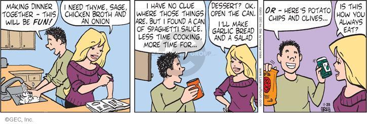 Comic Strip Greg Evans  Luann 2013-11-28 always