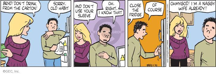 Comic Strip Greg Evans  Luann 2013-11-30 know
