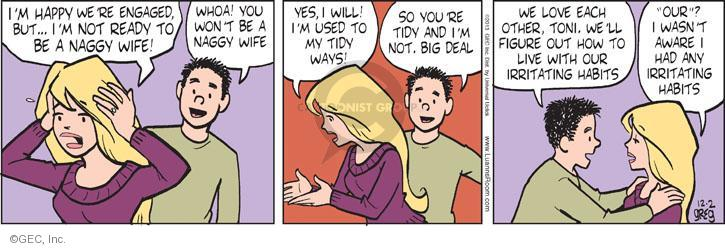 Comic Strip Greg Evans  Luann 2013-12-02 whoa