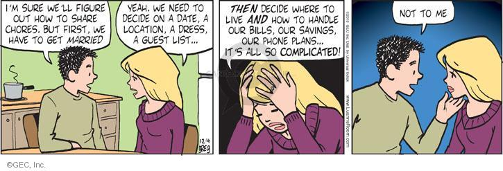 Comic Strip Greg Evans  Luann 2013-12-04 get a life