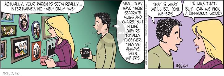 Comic Strip Greg Evans  Luann 2013-12-06 always