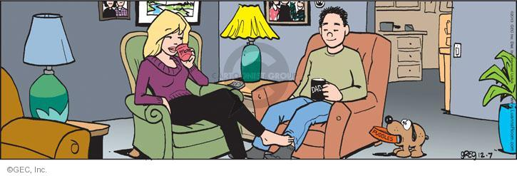 Comic Strip Greg Evans  Luann 2013-12-07 beverage
