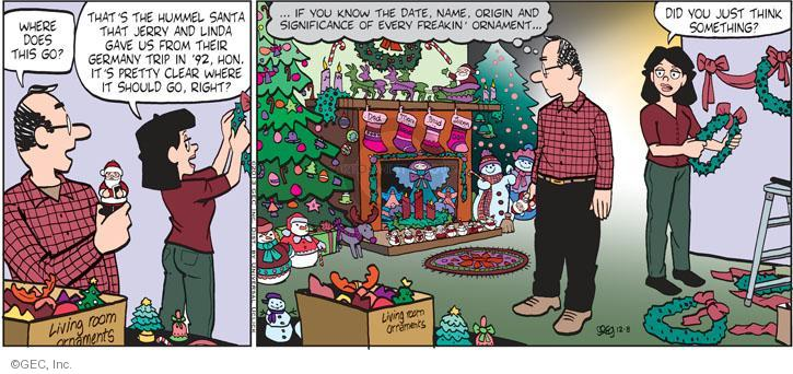 Comic Strip Greg Evans  Luann 2013-12-08 decoration