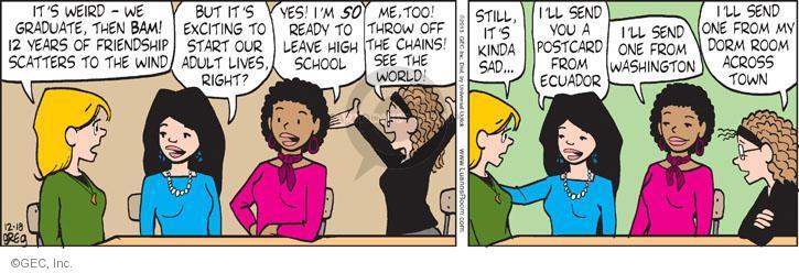 Comic Strip Greg Evans  Luann 2013-12-18 adult
