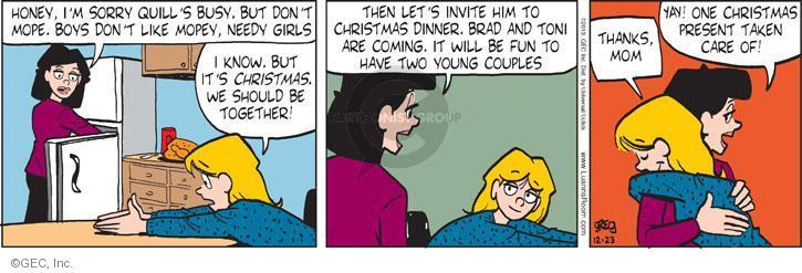 Comic Strip Greg Evans  Luann 2013-12-23 like