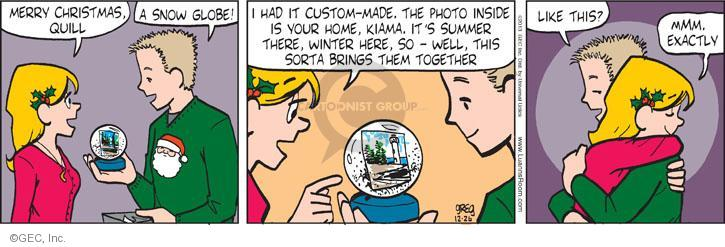 Comic Strip Greg Evans  Luann 2013-12-26 Merry