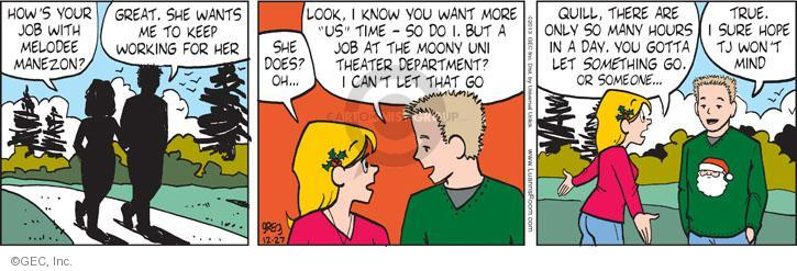 Comic Strip Greg Evans  Luann 2013-12-27 drama